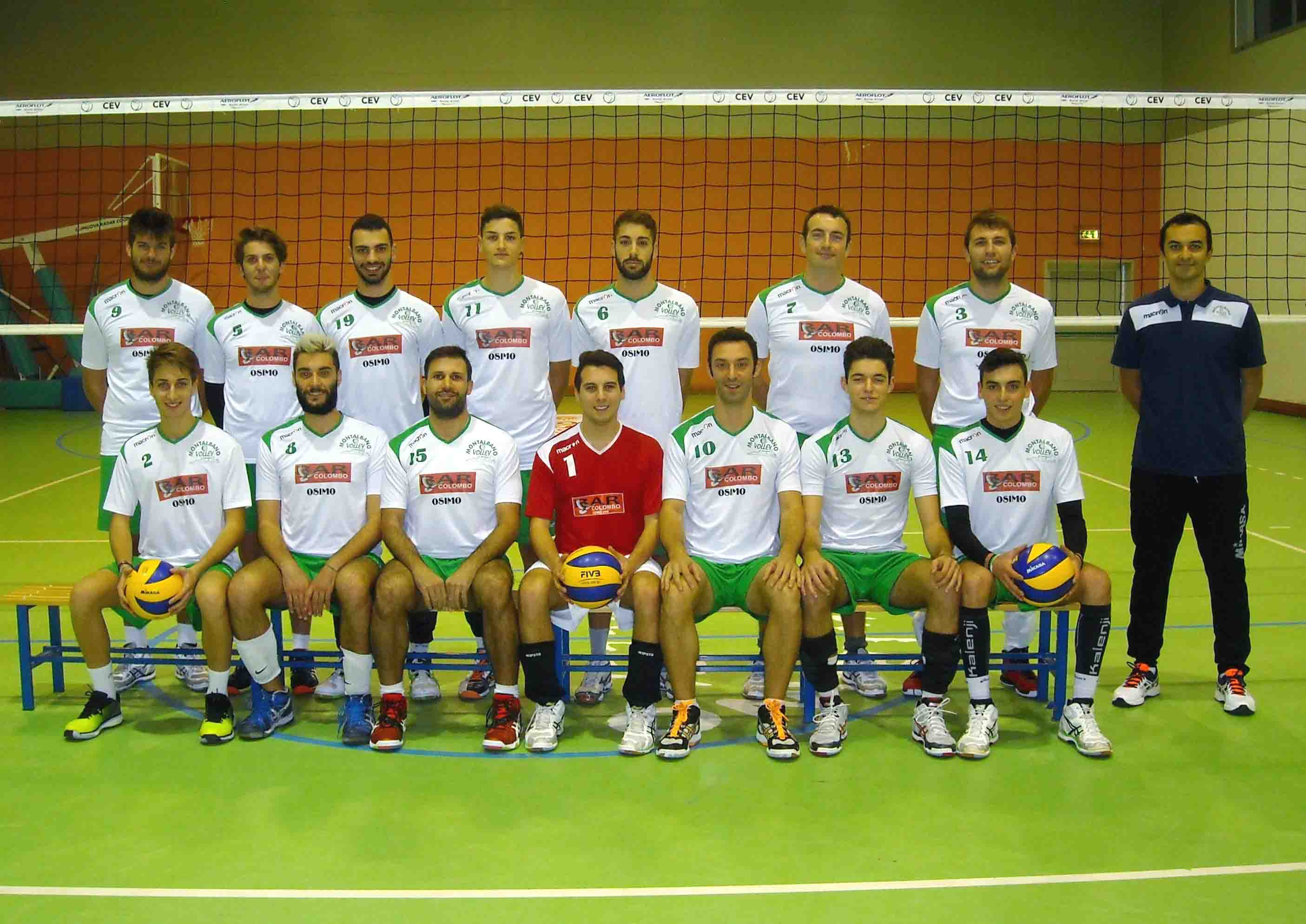 Montalbano Volley Serie D Stagione 2015 2016